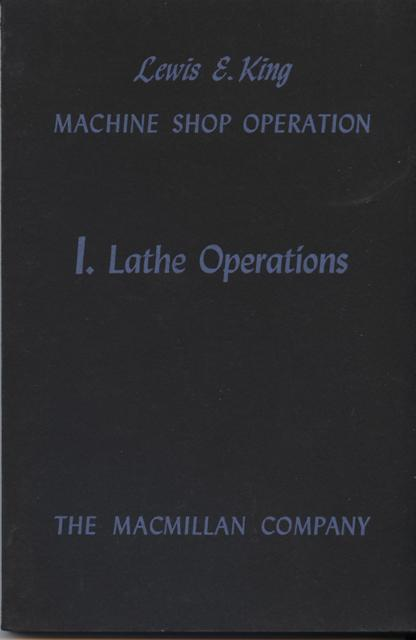 Image for Lathe Operations.
