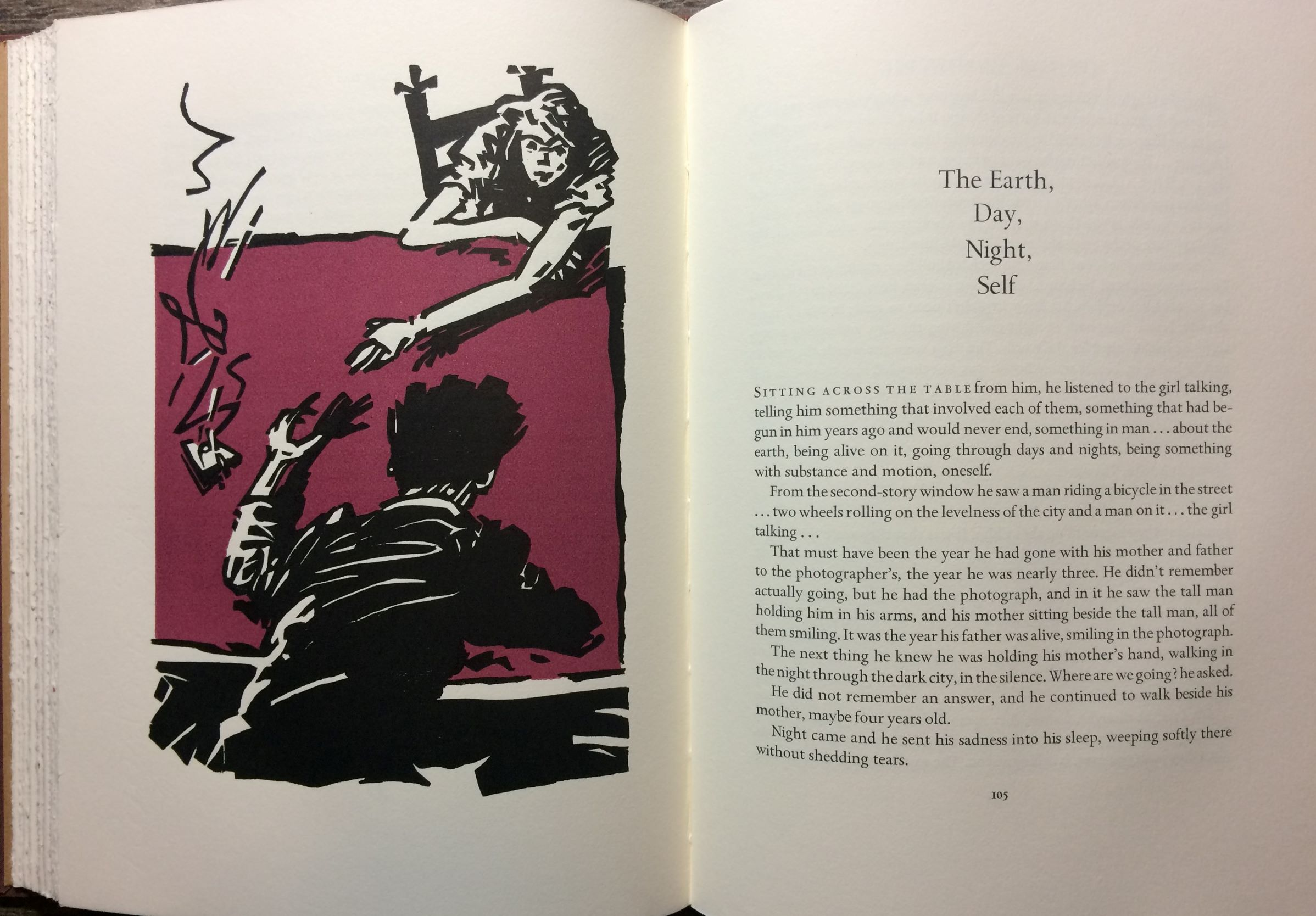 Image for The Daring Young Man on the Flying Trapeze and other Stories.  With an afterword by Herbert Gold; Woodblocks by Bill Prochnow.