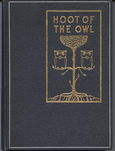 Image for The Hoot of the Owl.  Together with an illustrated Owl, Do Not Disturb Sign in 5 languages.