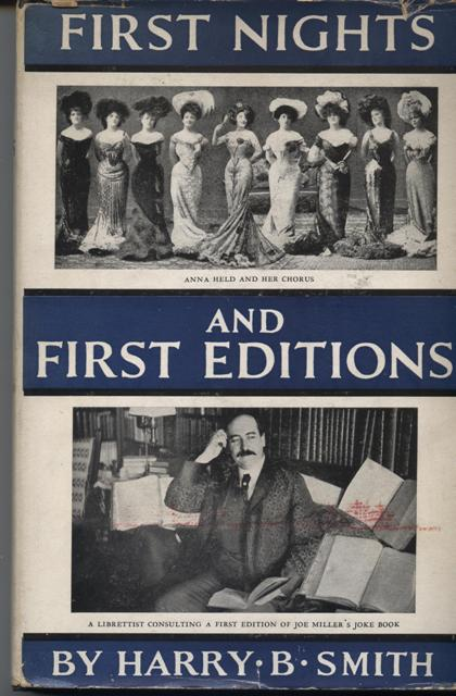 Image for First Nights and First Editions.