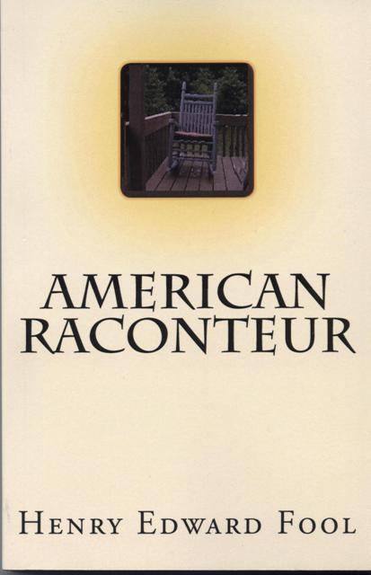 Image for American Raconteur.  Real American Writin' for Real American Readin'.