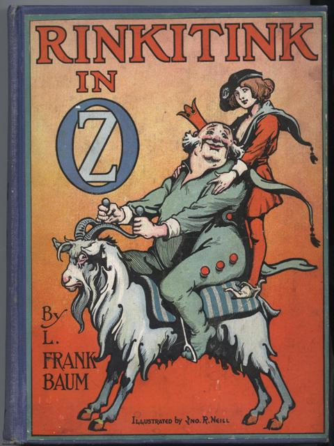 Image for Rinkitink In Oz.  Illustrated by John R. Neill.