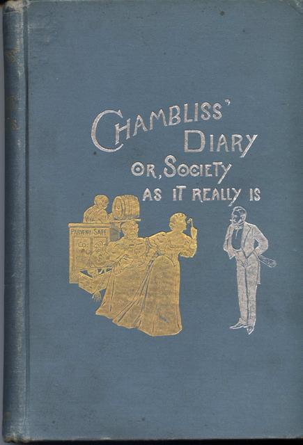 Image for Chambliss' Diary; or, Society As It Really Is.