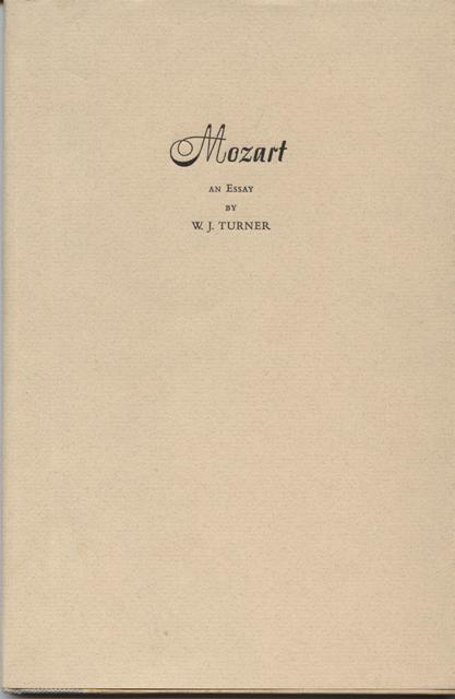 Image for Mozart, an Essay.  Introduction by Donald R. Fleming.