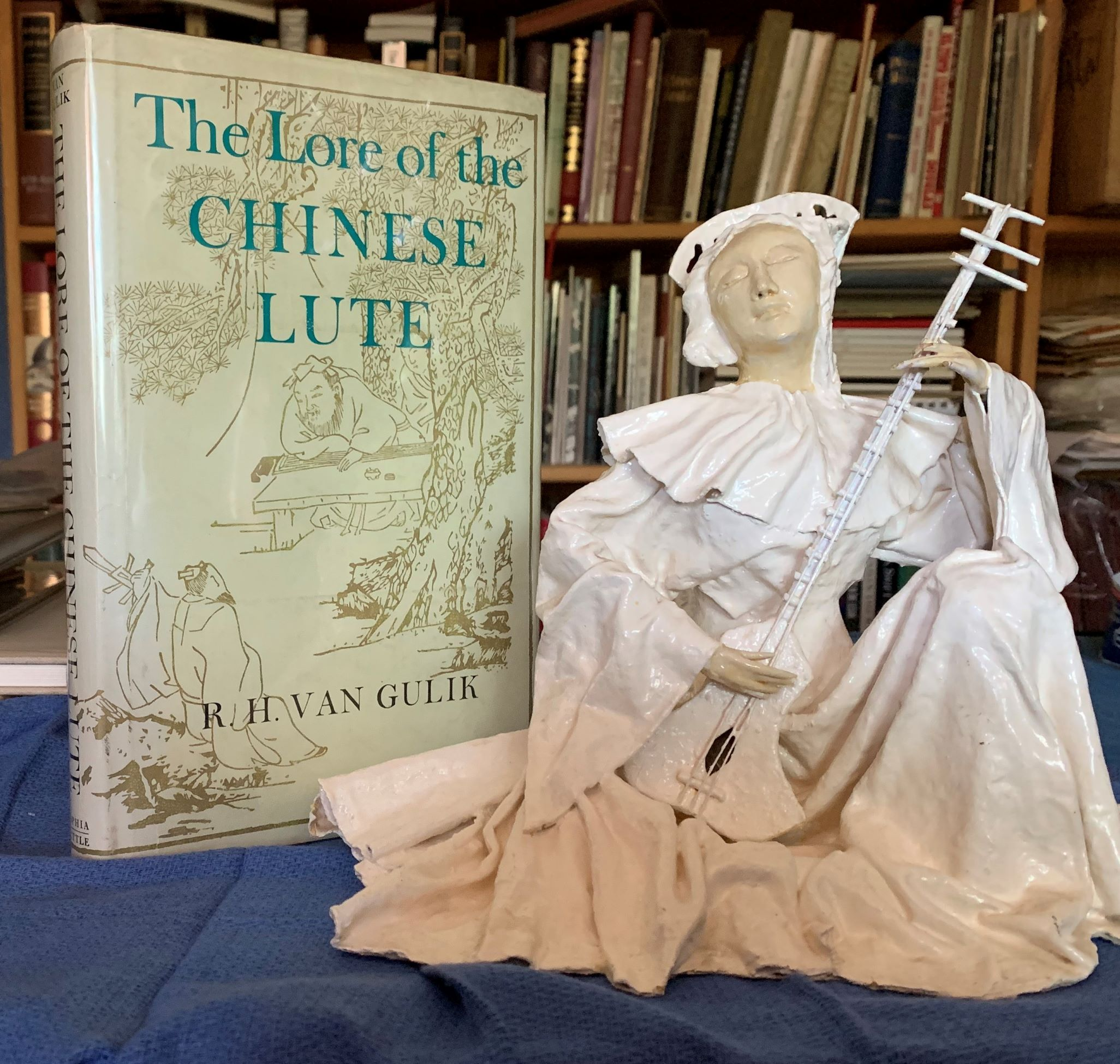 "Image for [Two Items]: The Lore of the Chinese Lute. An essay in the ideology of the Ch'in. (together with) a sculpture ""Court Musician"" by Vonn Hamilton."