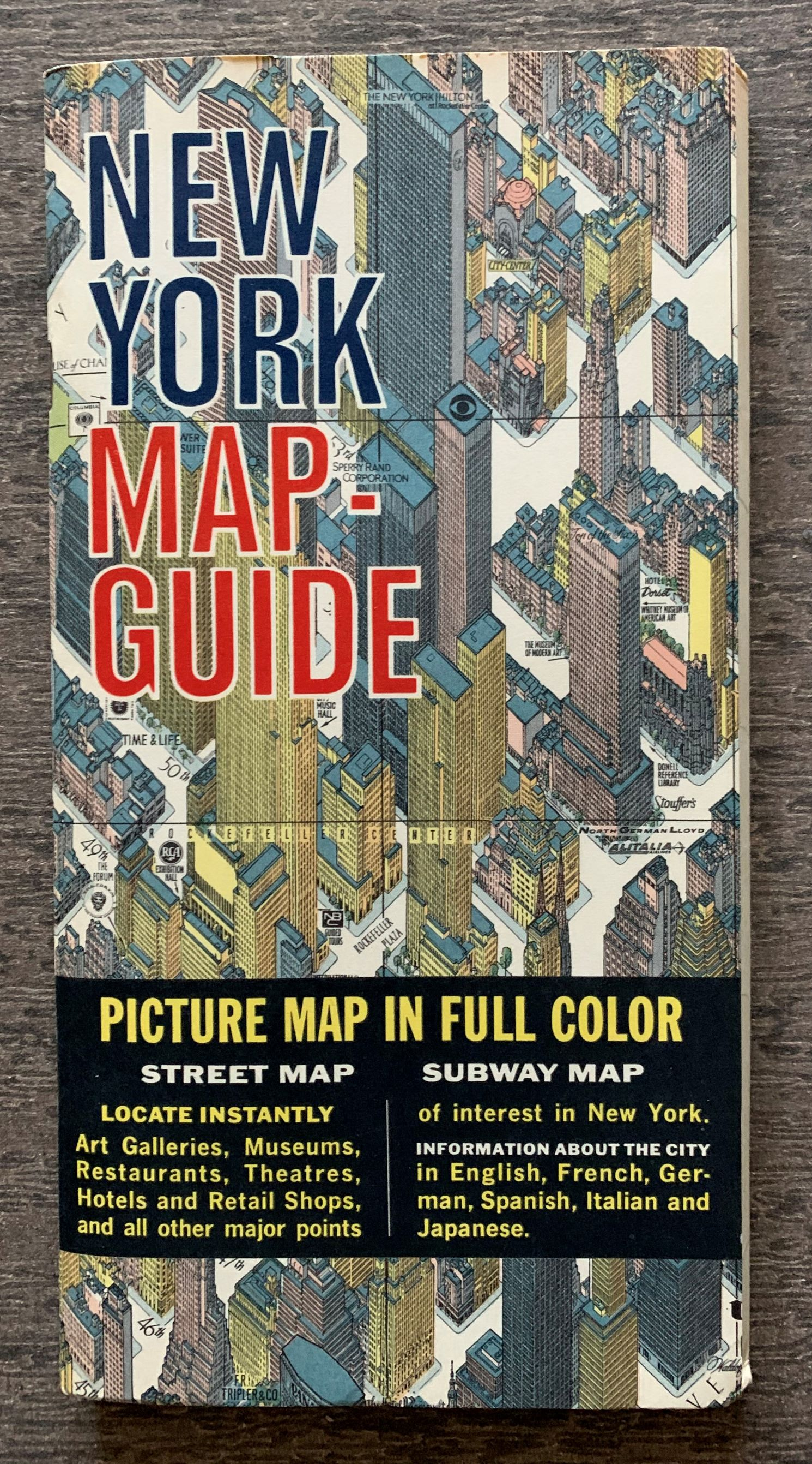 Image for New York Map-Guide. Picture Map in Full Color.