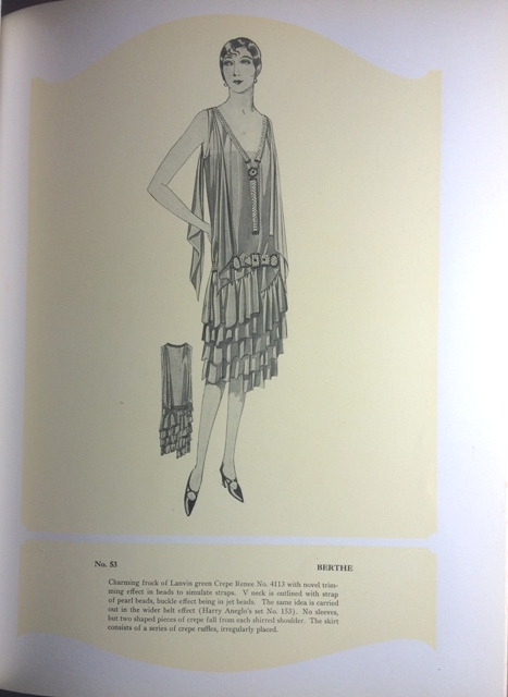 Image for [Harry Angelo Company] Illustrations, Model Gowns, Displayed at Our Spring & Summer Opening, March 1926.