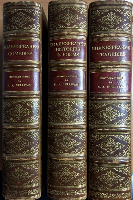 Image for Shakespeare's Tragedies, Comedies, Histories & Poems. Three volumes complete.