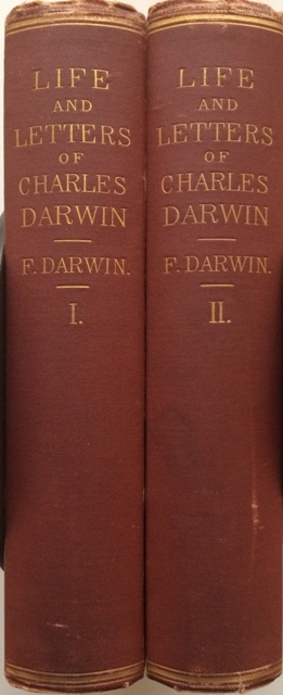 Image for The Life and Letters of Charles Darwin. Including an Autobiographical Chapter.  Edited by his son, Francis Darwin. In Two Volumes.