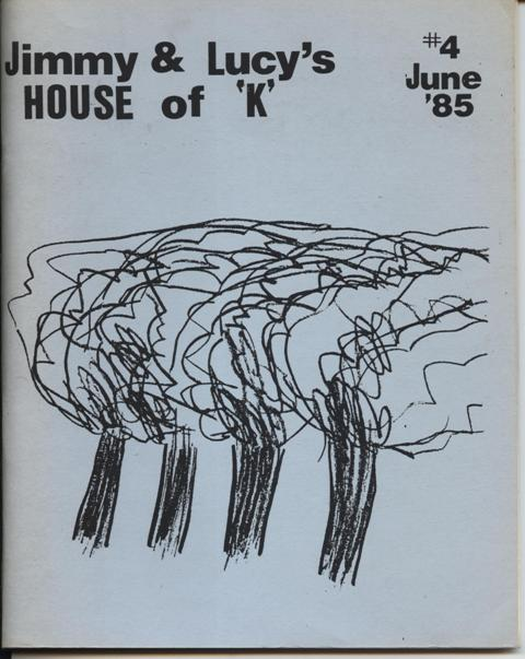 Image for Jimmy & Lucy's House of K #4, June '85.