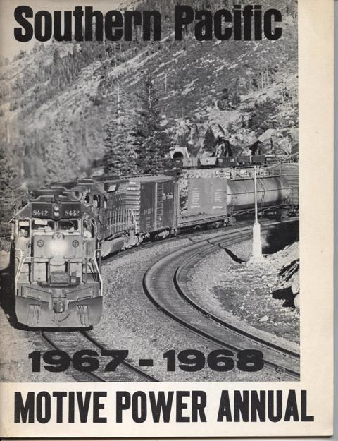 Image for 2 Issues: Southern Pacific Motive Power Annual, 1967-1968 & 1968-1969.
