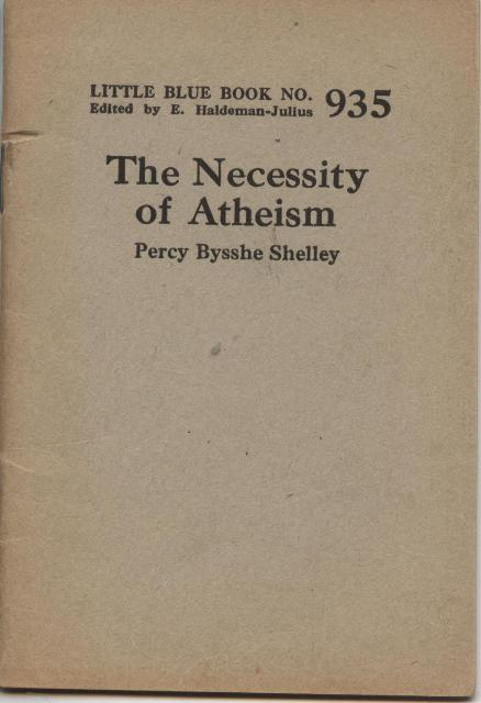 Image for The Necessity of Atheism.