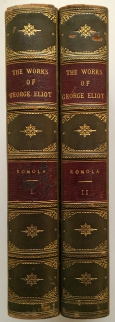 Image for Romola [In Two Volumes from the Foleshill Edition].