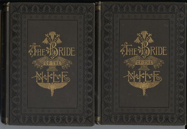 Image for The Bride of the Nile, A Romance.  From the German by Clara Bell. In two volumes.