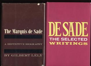 Image for 2 Items: The Selected Writings of De Sade, together with, The Marquis de Sade, a definative biography.