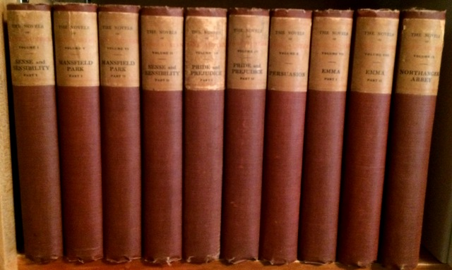 Image for The Novels of Jane Austen. (In Ten Volumes).