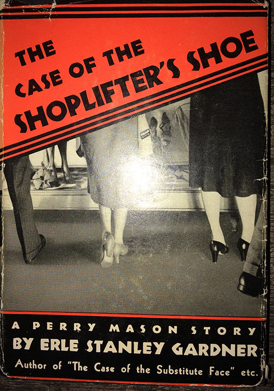Image for The Case of the Shoplifter's Shoe.