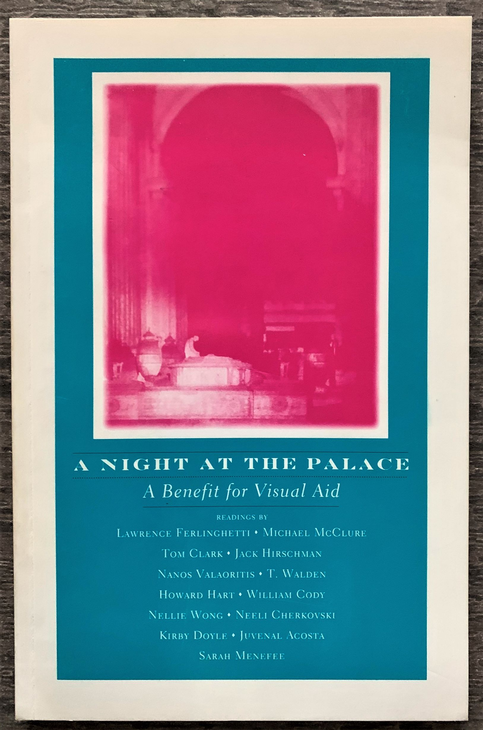 Image for A Night at the Palace, a Benefit for Visual Aid (signed by the poets).