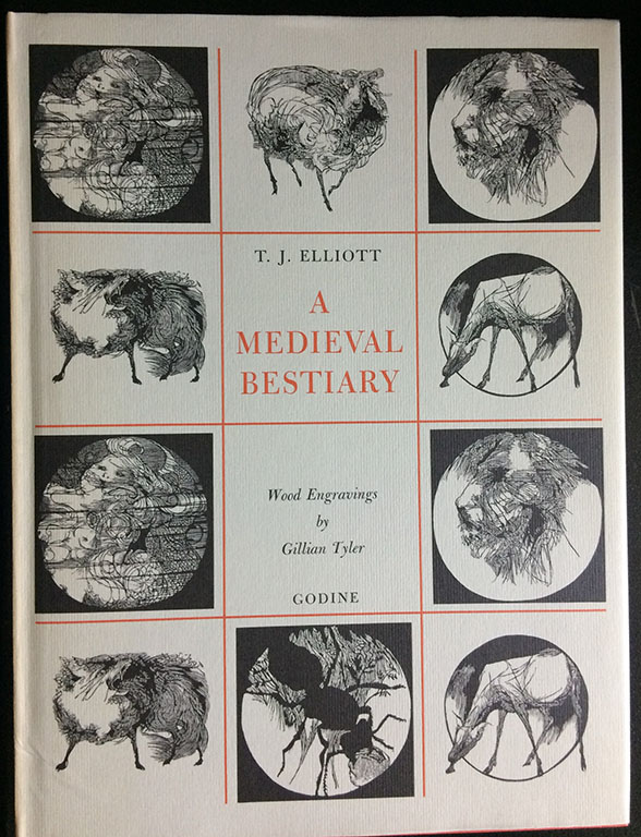Image for A Medieval Bestiary.  With Wood Engravings by Gillian Tyler.