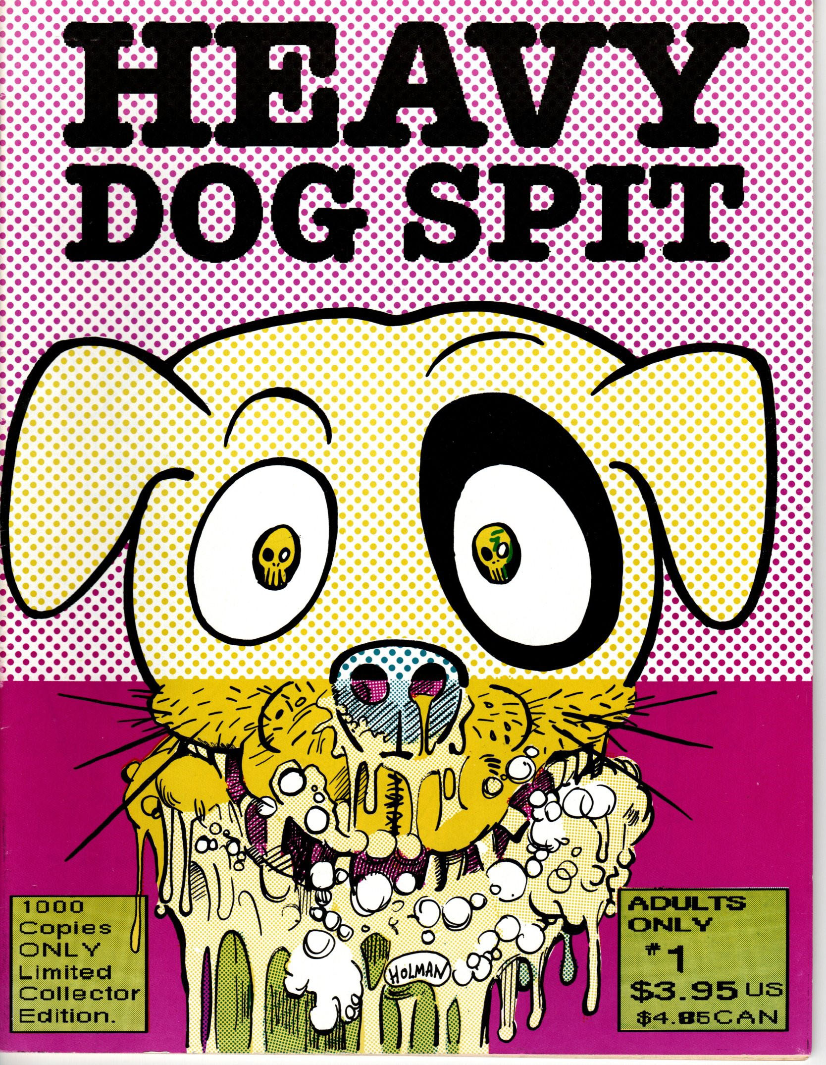 Image for Heavy Dog Spit #1.