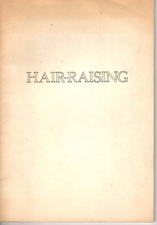 Image for Hair-Raising.
