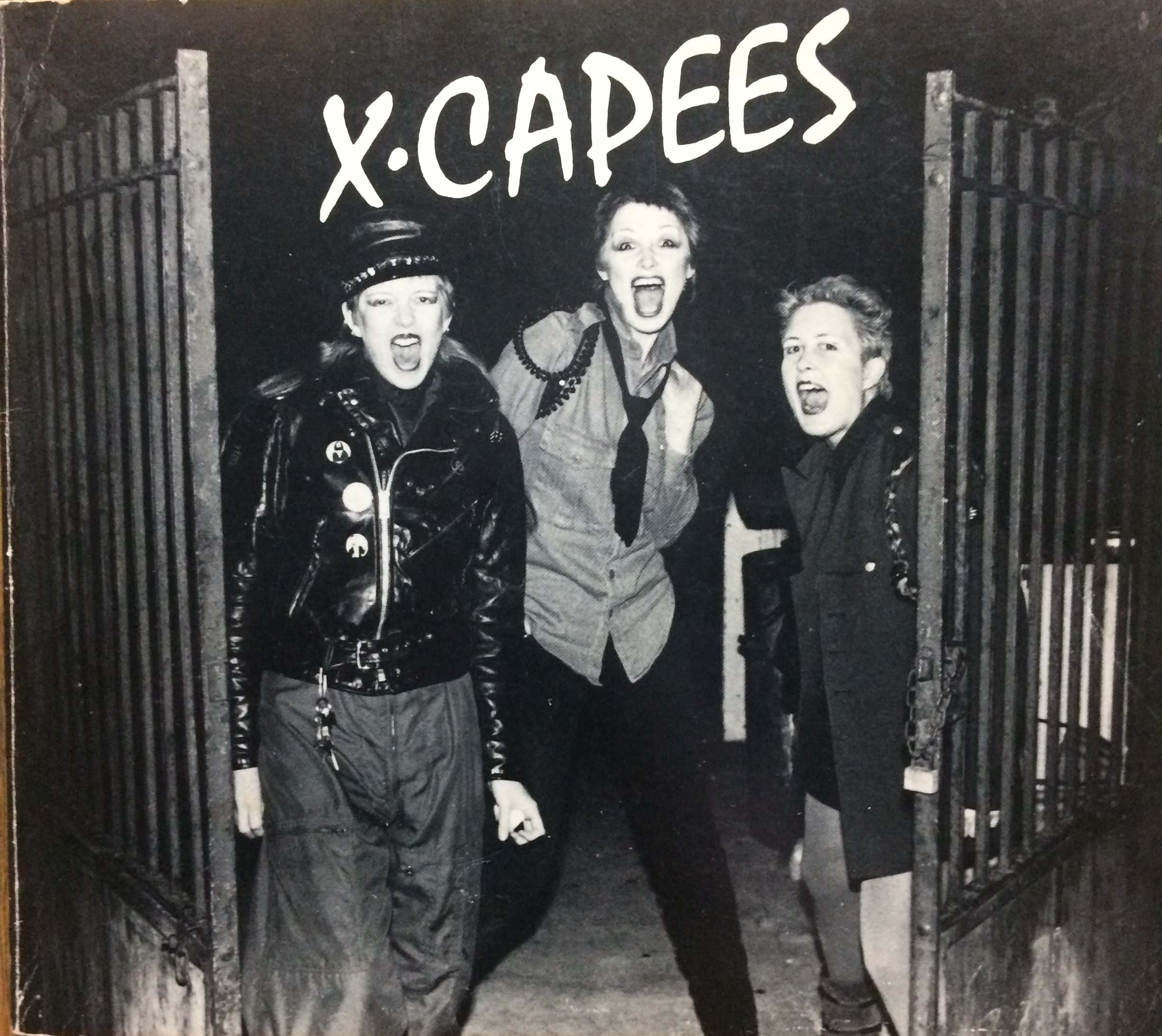 Image for X-Capees, A San Francisco Punk Photo Documentary (signed by everyone!).