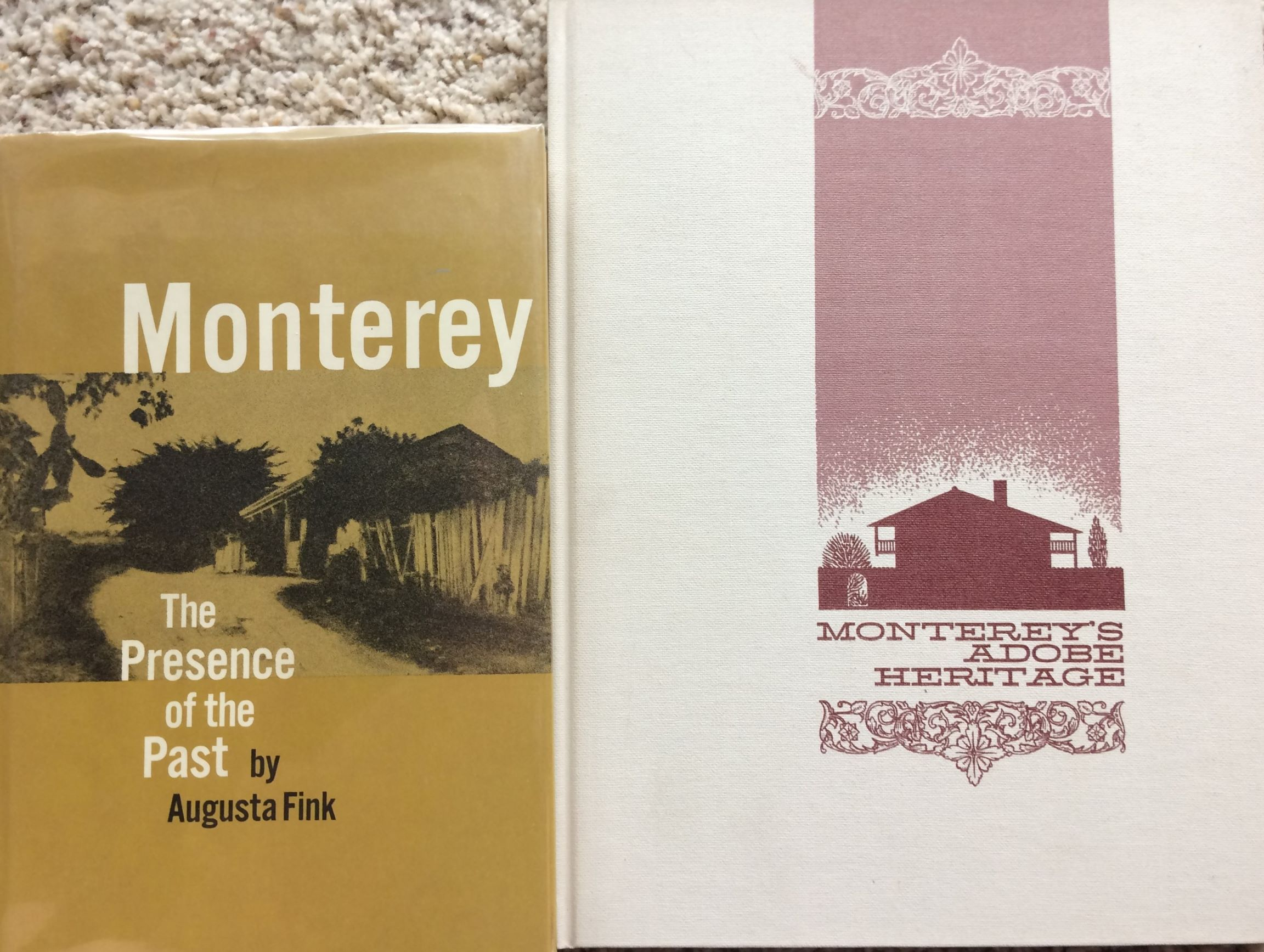 Image for (Three Titles): Monterey, The Presence of the Past; together with, Monterey's Adobe Heritage; and Monterey Bay Yesterday, a nostalgic  era in postcards.