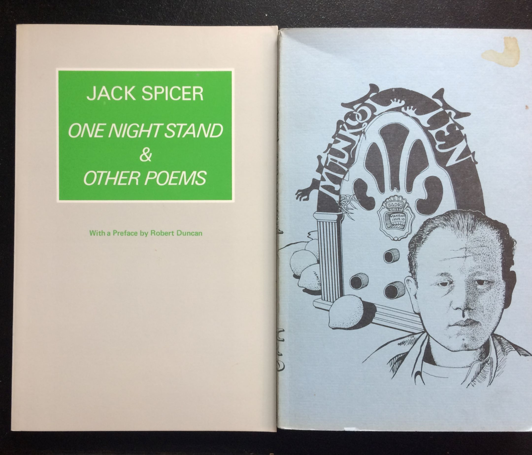 Image for (Two Titles): One Night Stand, together with Manroot No. 10, The Jack Spicer Issue.