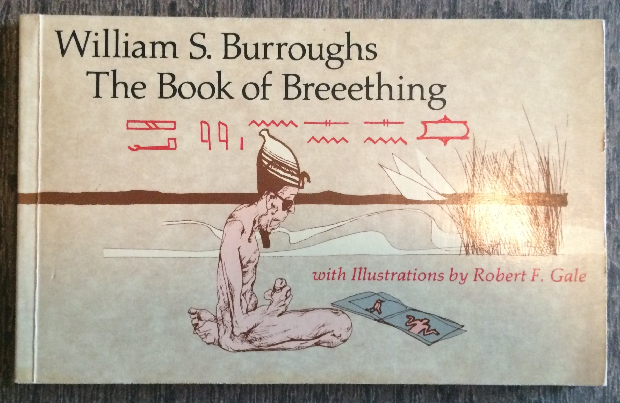 Image for The Book of Breeething.  Text and conception by Willaim S. Burroughs; Illustrations by Robert F. Gale.