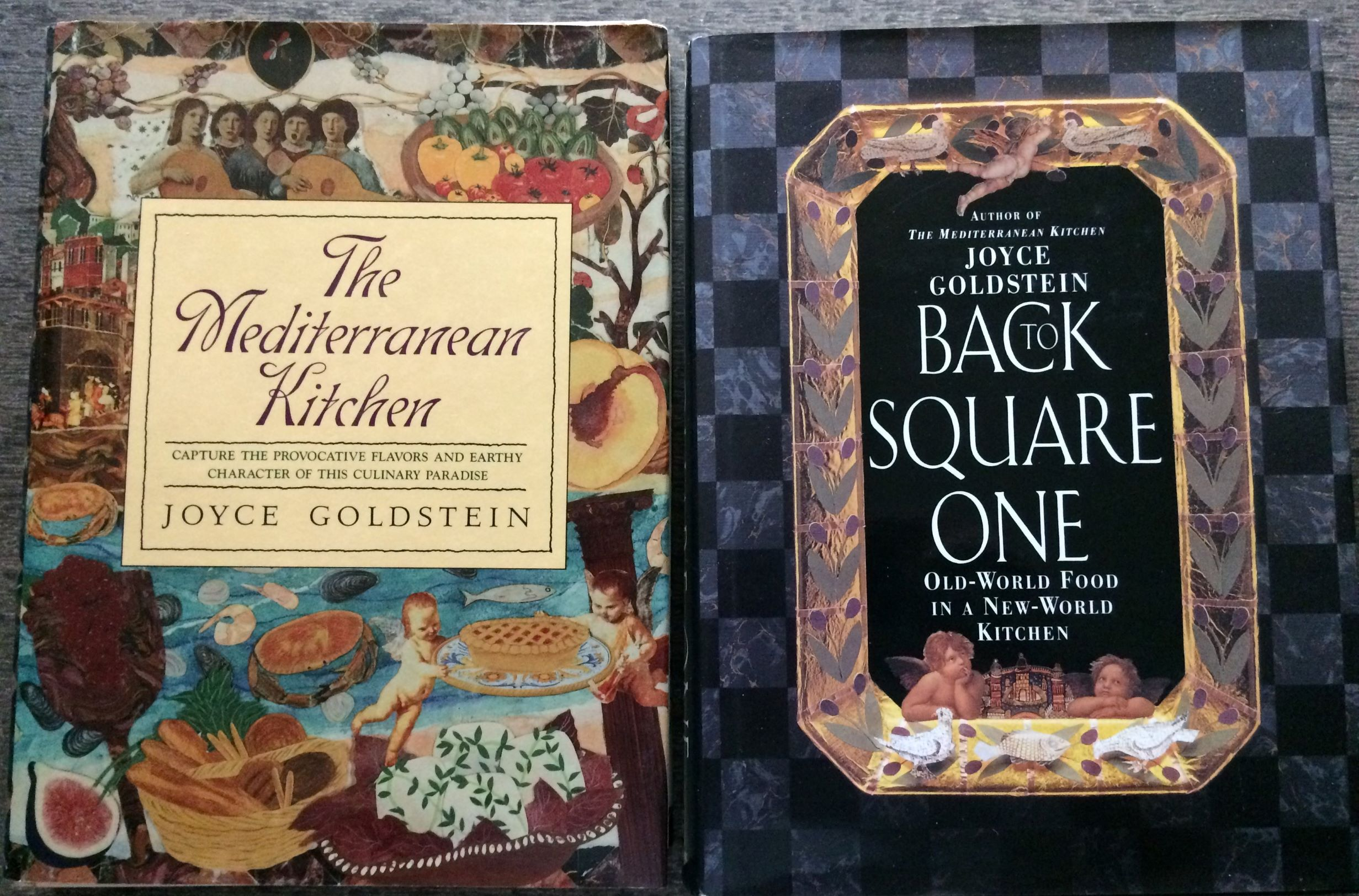 Image for (Two Titles) The Mediterranean Kitchen; together with, Back to Square One.