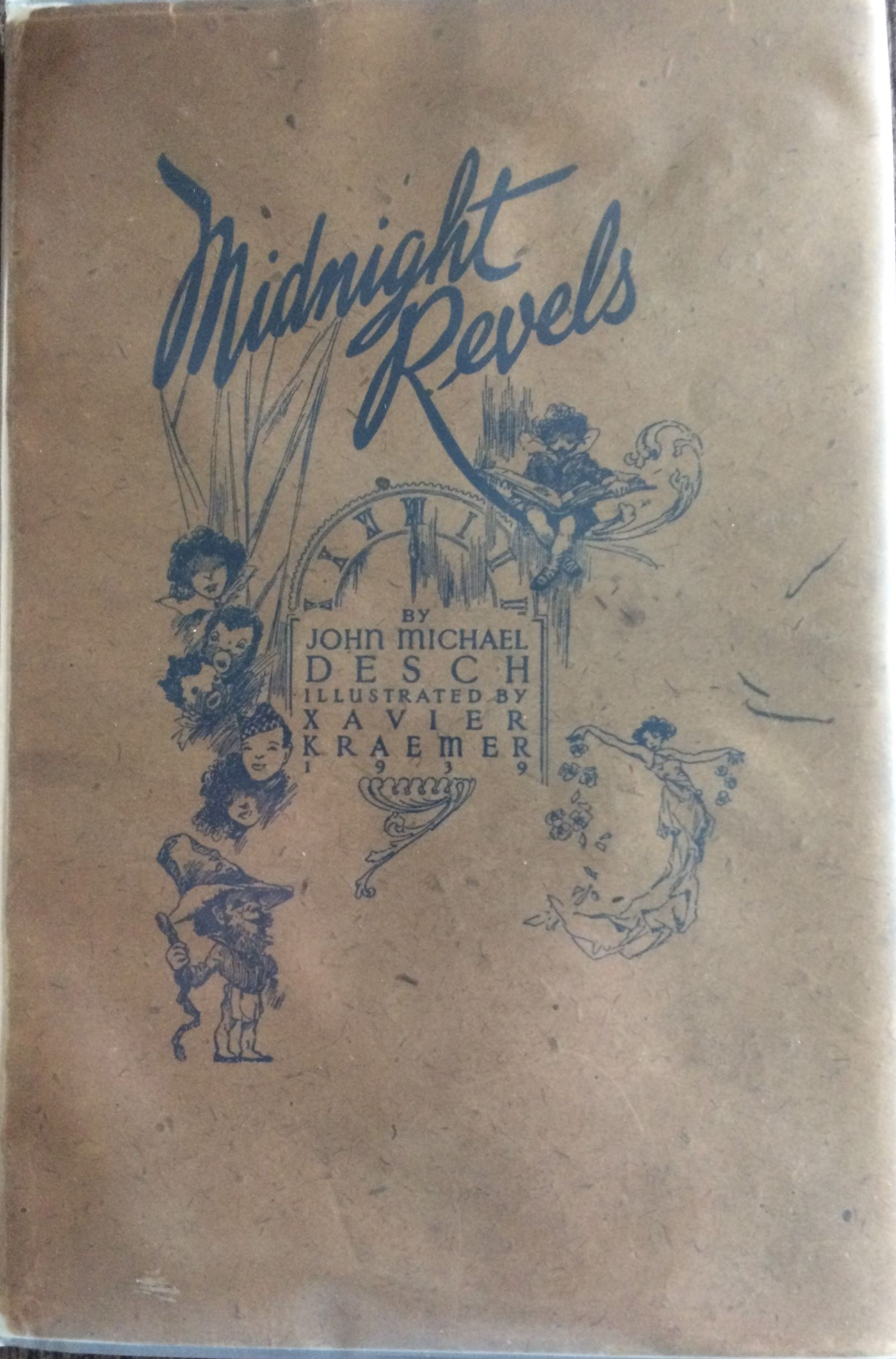 Image for Midnight Revels. (Inscribed by author to the Illustrator)  Illustrated by Xavier Kraemer.