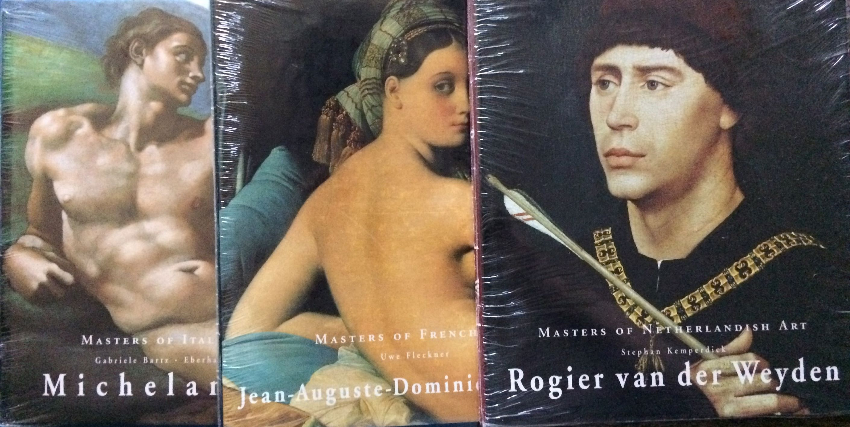 Image for (Three Titles from the Masters of . . . series) Rogier van der Weyden; Jean-Auguste-Dominique Ingres; Michelangelo.