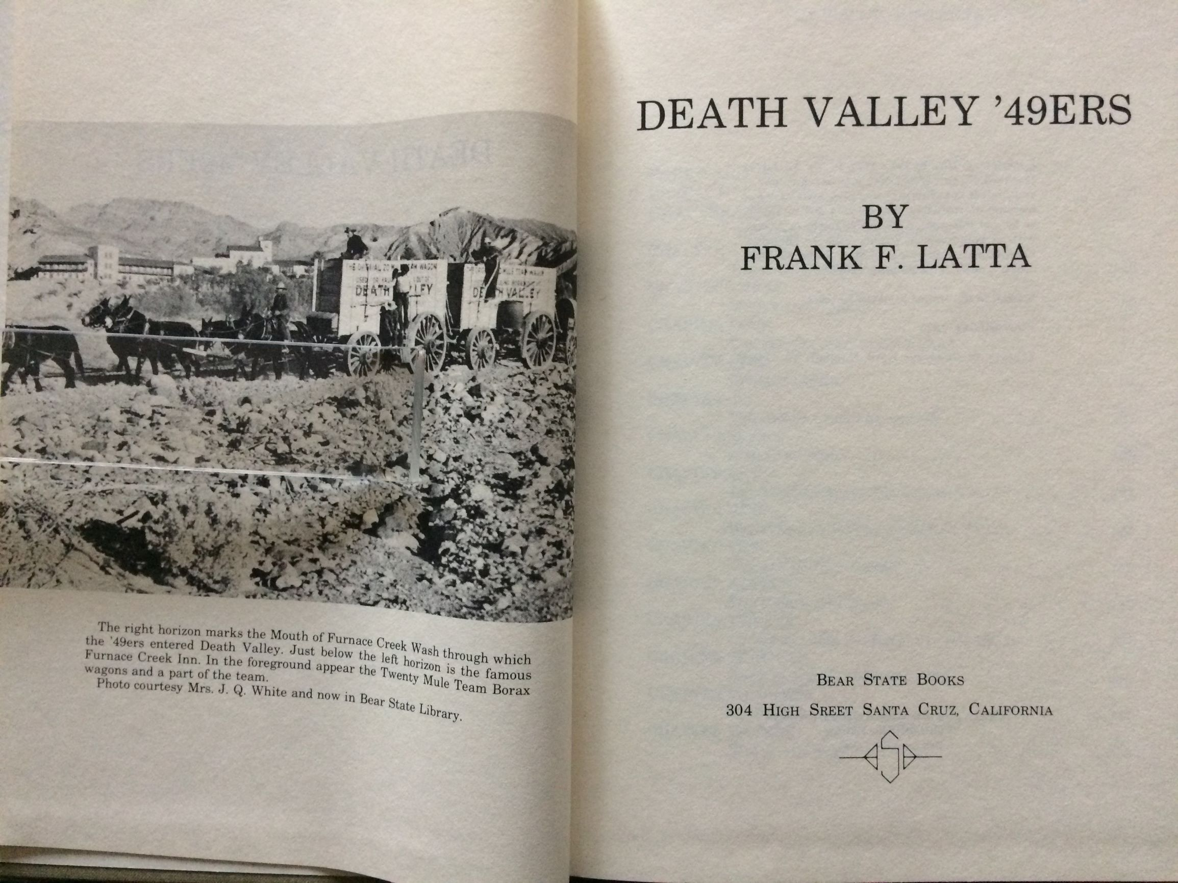 Image for Death Valley '49ers.