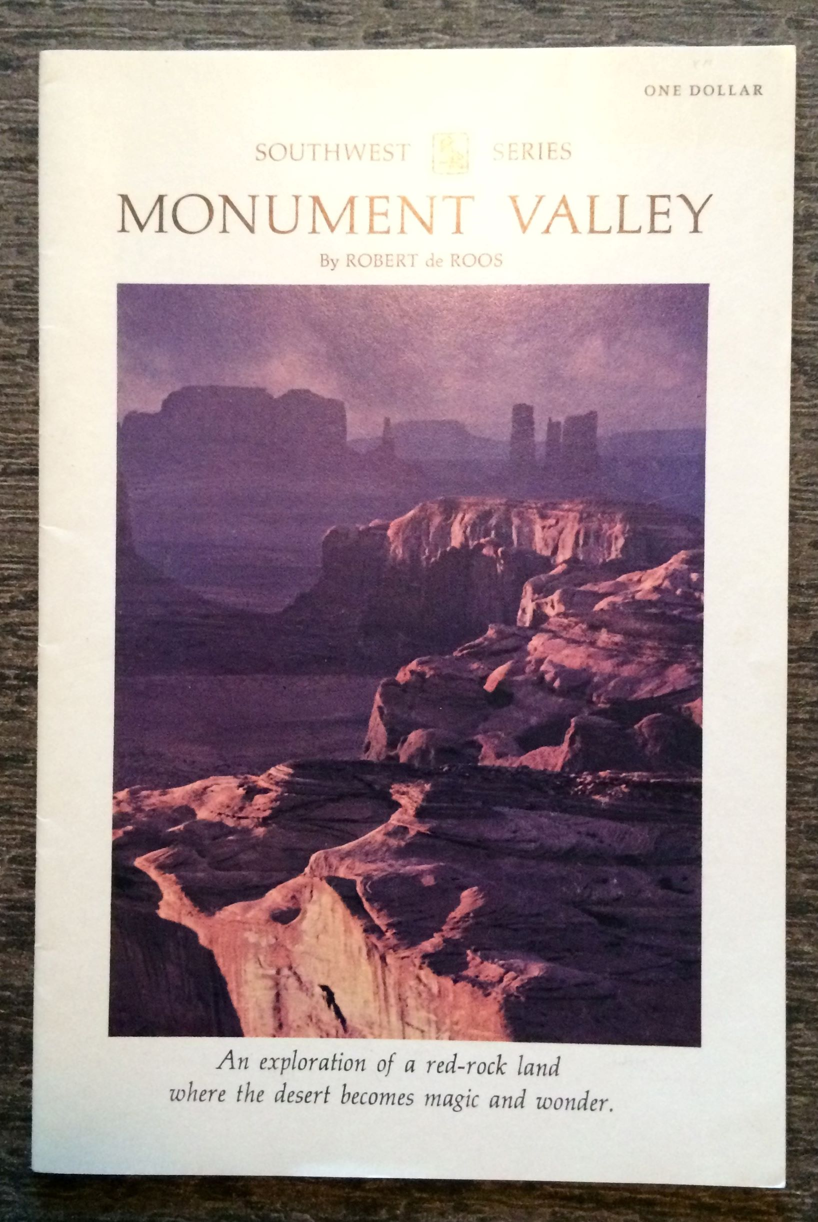 Image for Monument Valley. An exploration of a red-rock land where the desert becomes magic and wonder.
