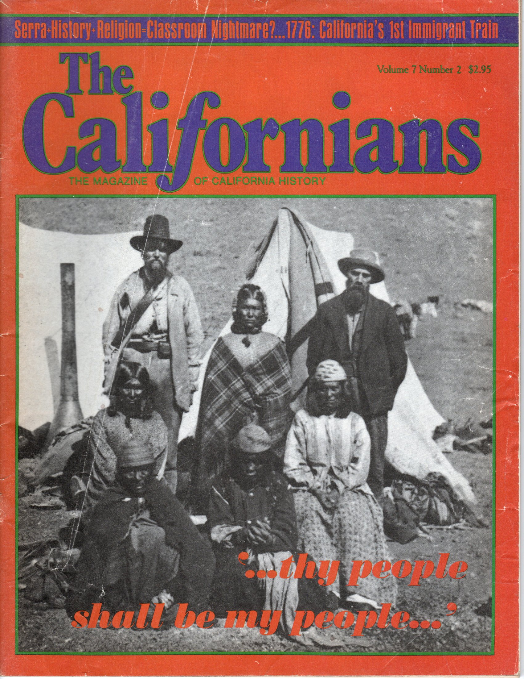 Image for The Californians. The Magazine of California History.  [Volume 7, Number 2, March-August 1989]