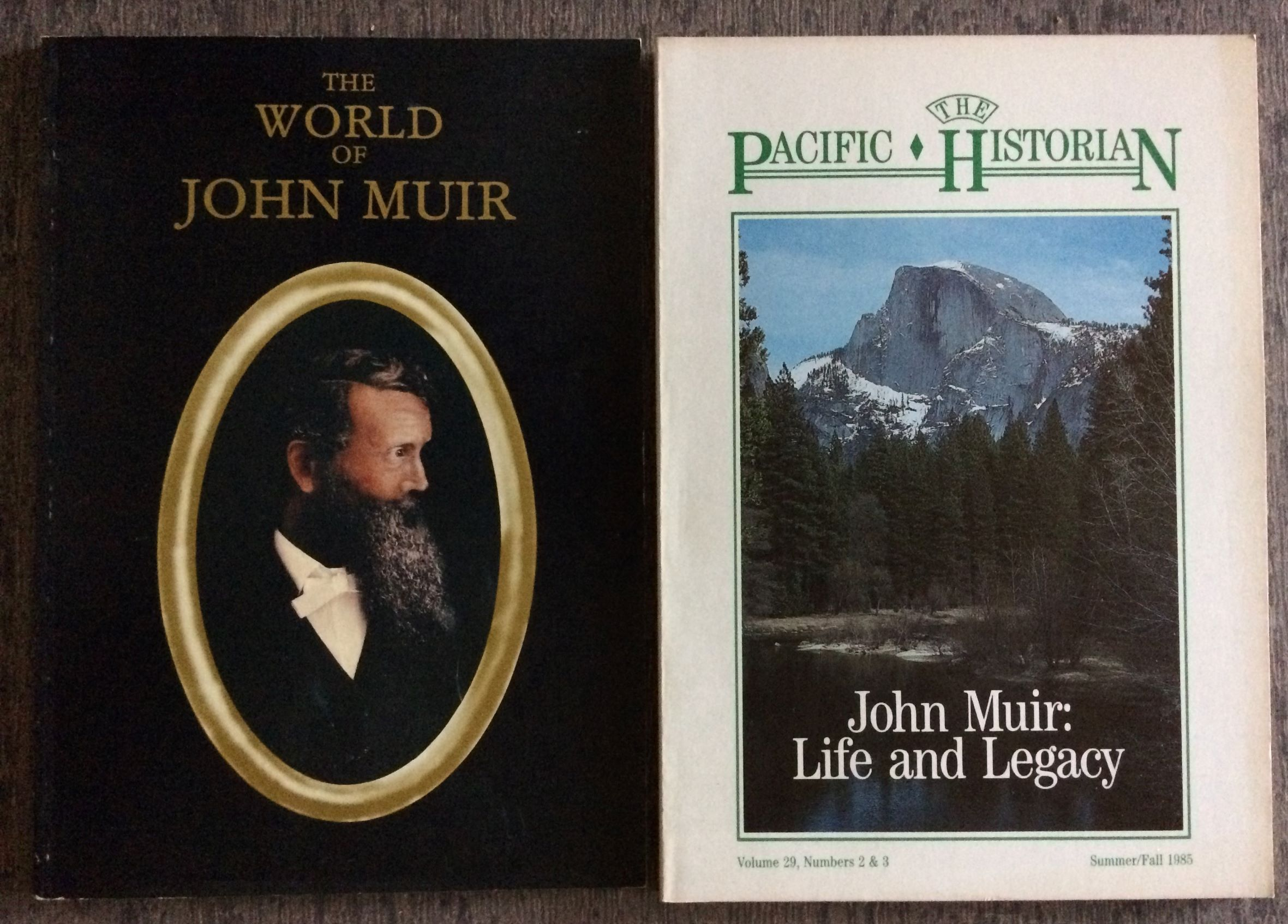 Image for [Two Items] The Pacific Historian. A Quarterly of Western History and Ideas, John Muir, Life and Legacy; together with The World of John Muir.  Volume 29, Numbers 2&3; Summer/Fall1985