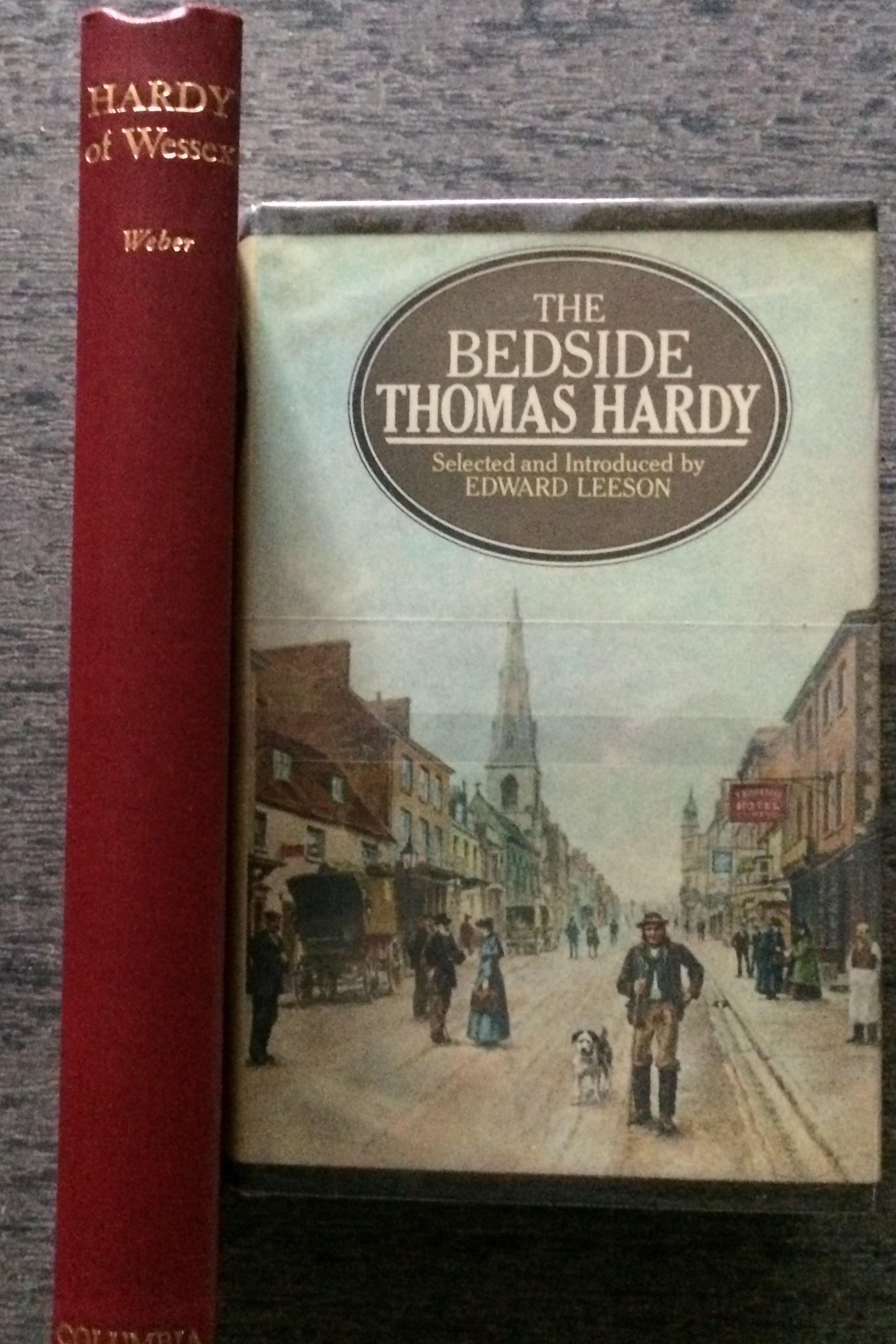 Image for [Two Titles] The Bedside Thomas Hardy, together with: Hardy of Wessex, His Life and Literary Career.