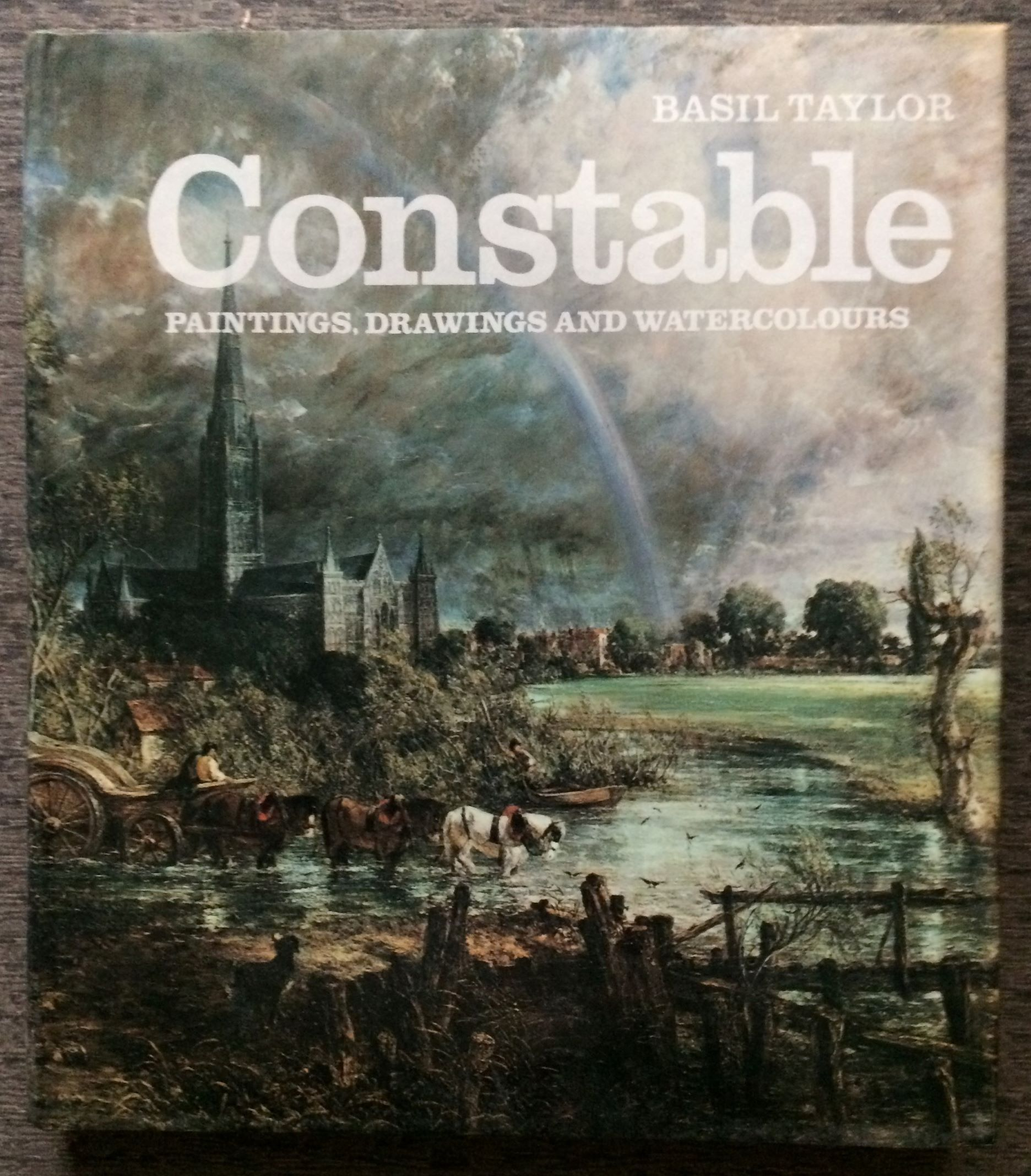 Image for Constable: Paintings, Drawings And Watercolours.