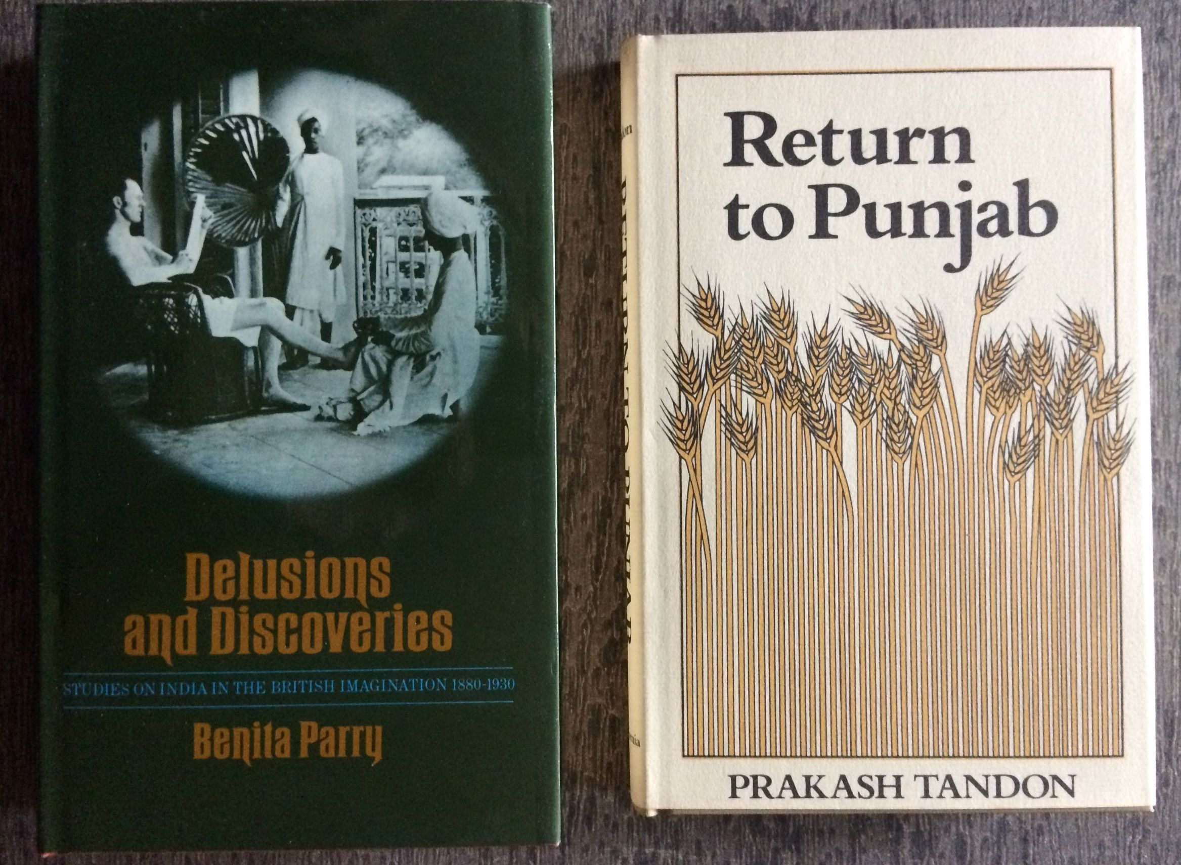 Image for [Two Titles]: Delusions and Discoveries, Studies on India in the British Imagination, together with; Return to Punjab.