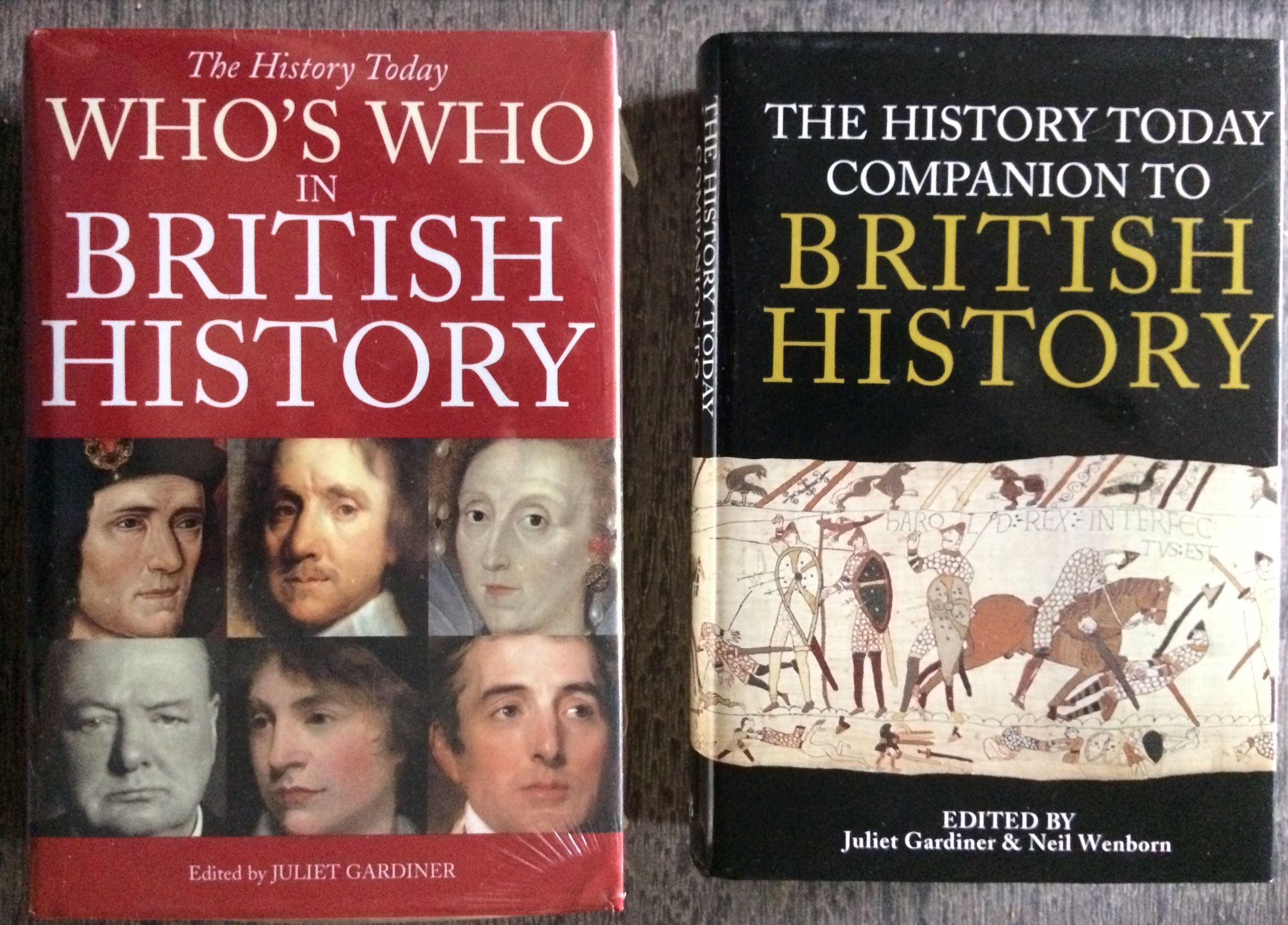 Image for [Two Titles] The History Today Companion to British History, and Who's Who in British History.