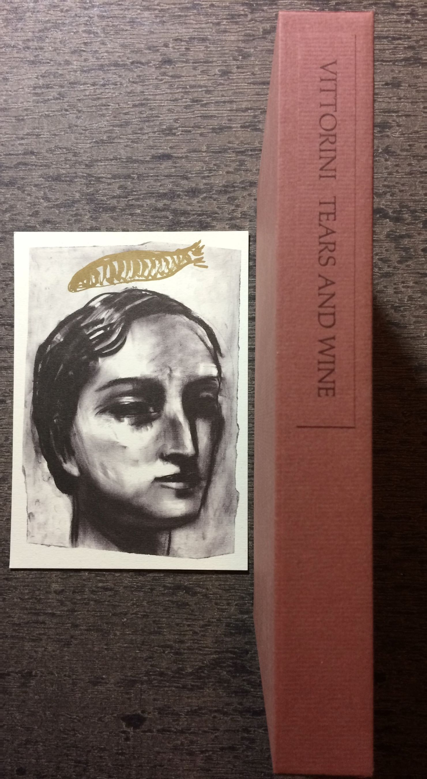 Image for Tears and Wine.  Translation by Wilfrid David; Art by Vivienne Flesher; Forward by Ernest Hemingway; Afterword by the author.