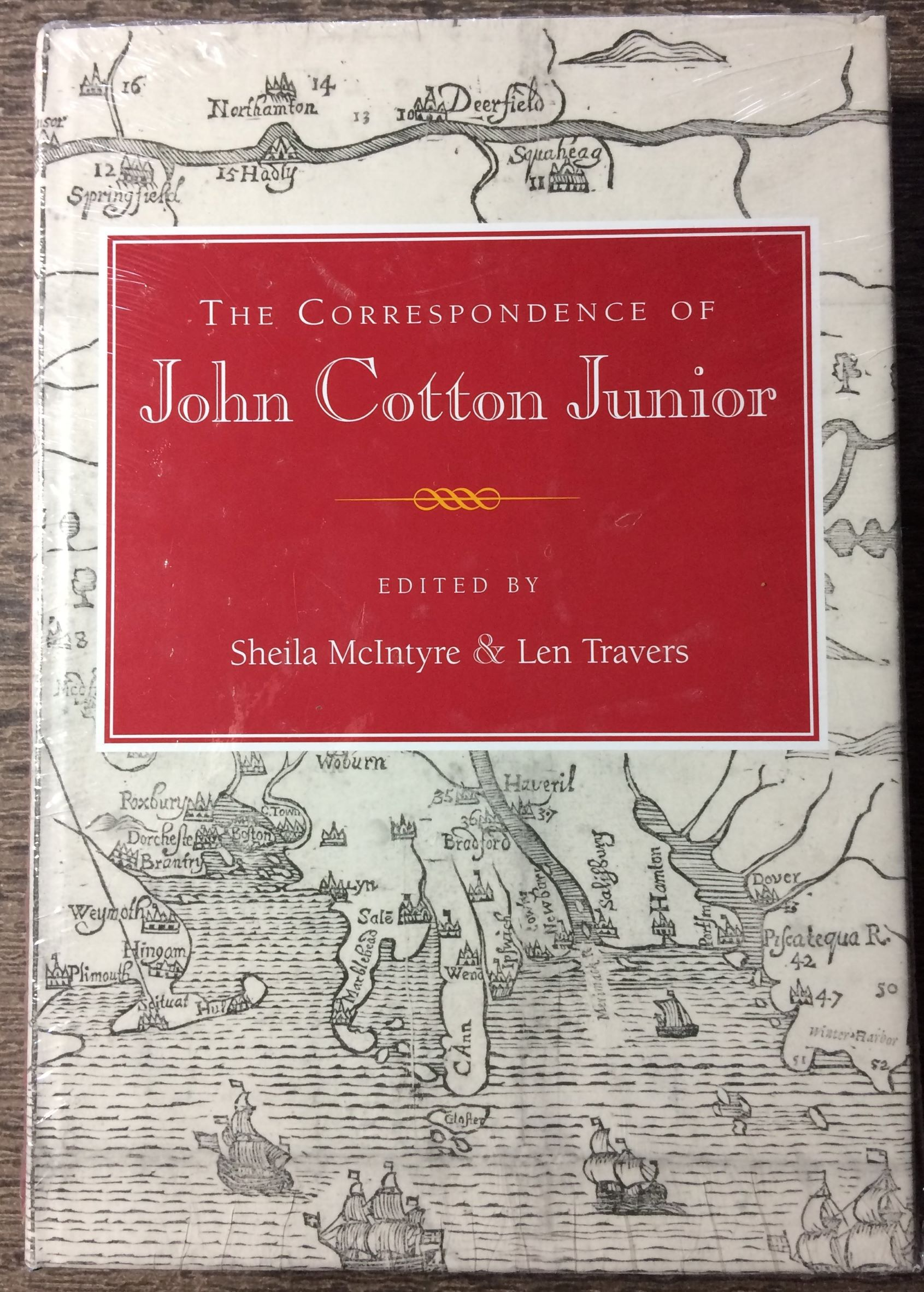 Image for The Correspondence of John Cotton Junior.