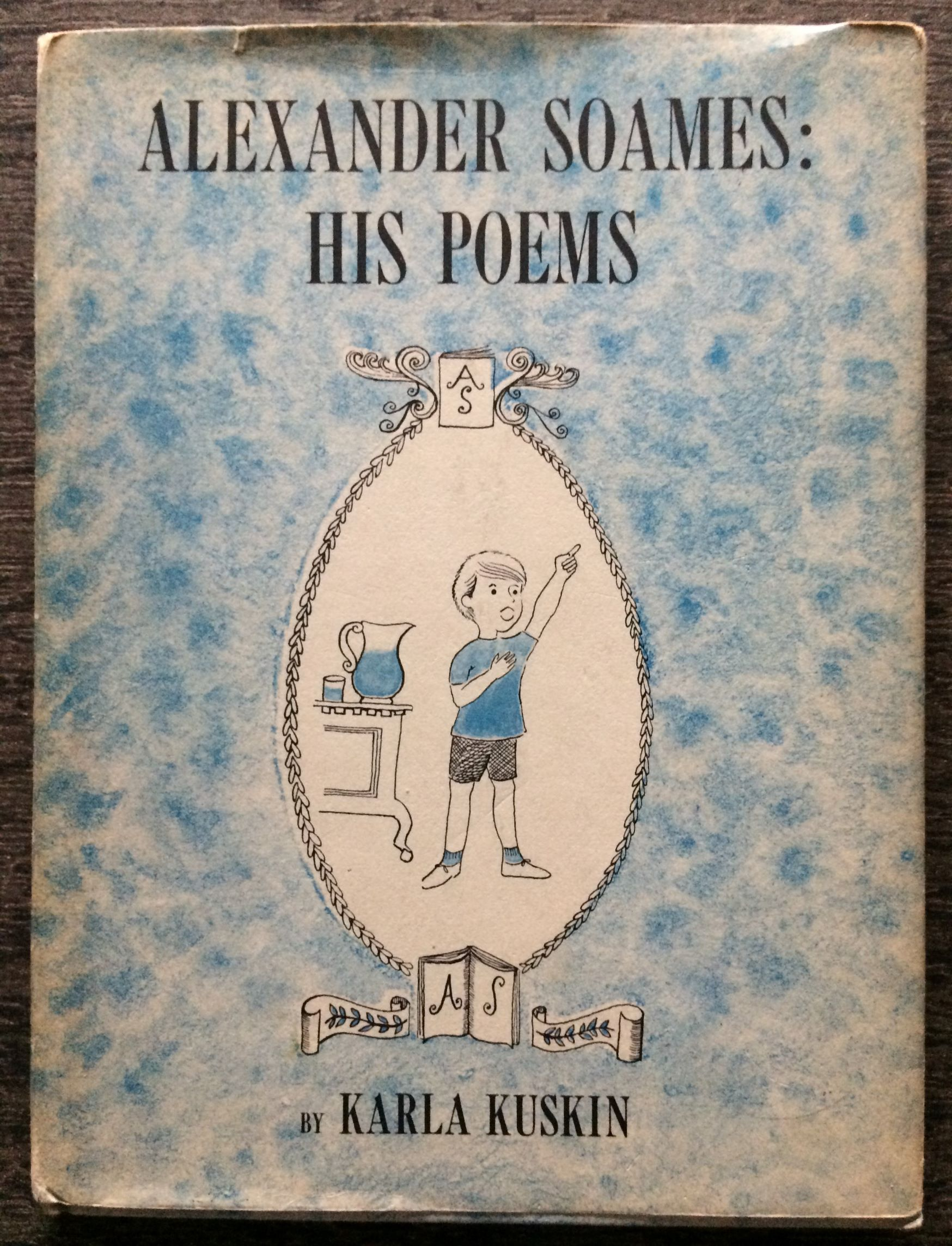 Image for Alexander Soames: His Poems.