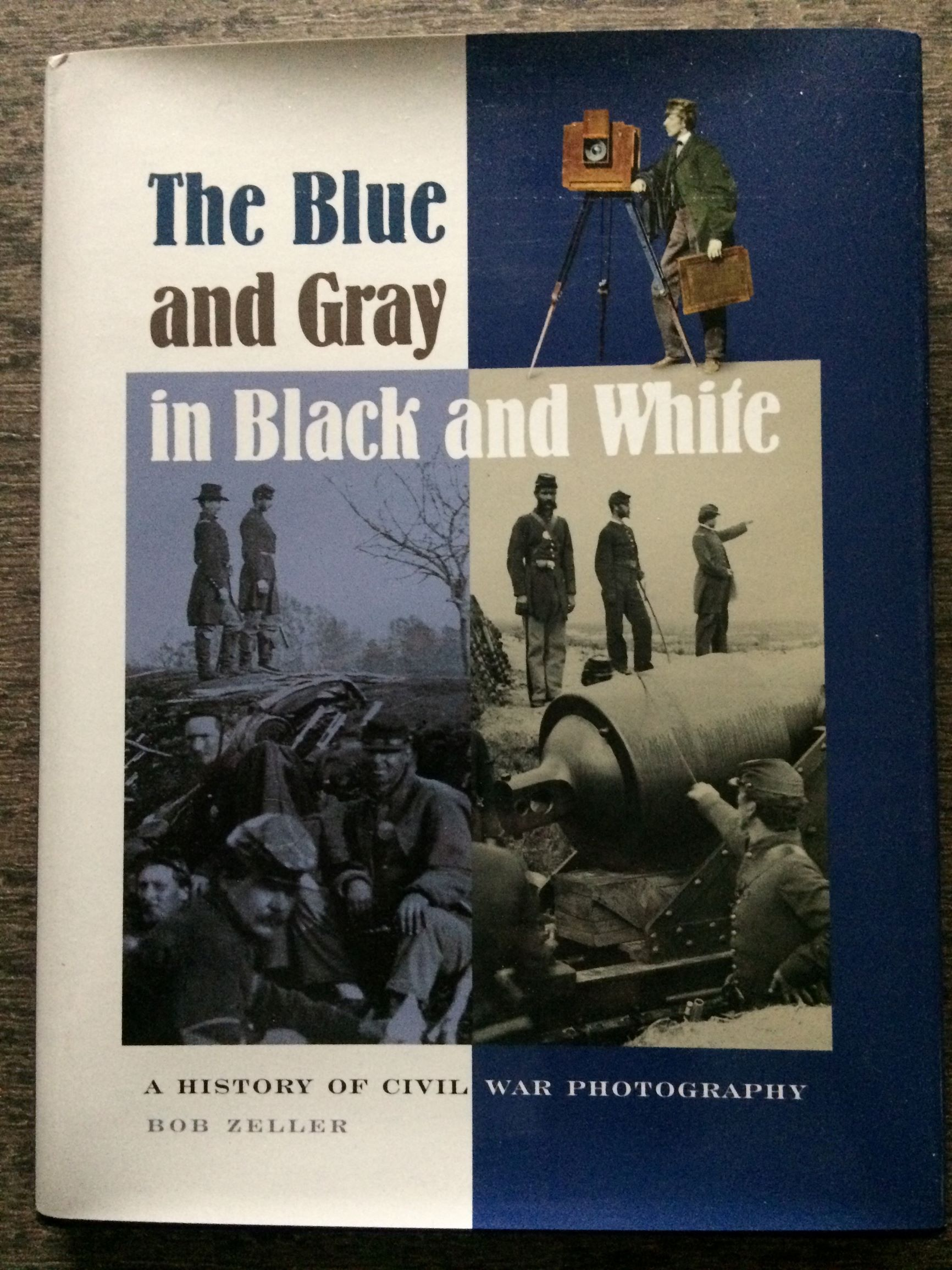 Image for The Blue and Gray in Black and White.