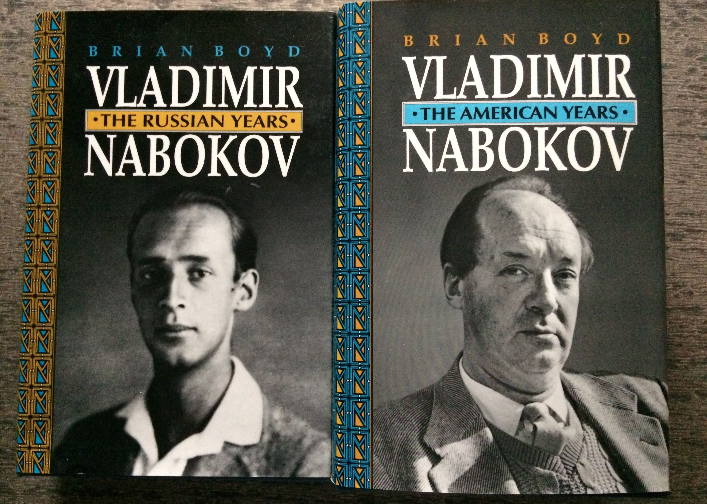 Image for [Two Volumes] Vladimir Nabokov, The Russian Years; The American Years.