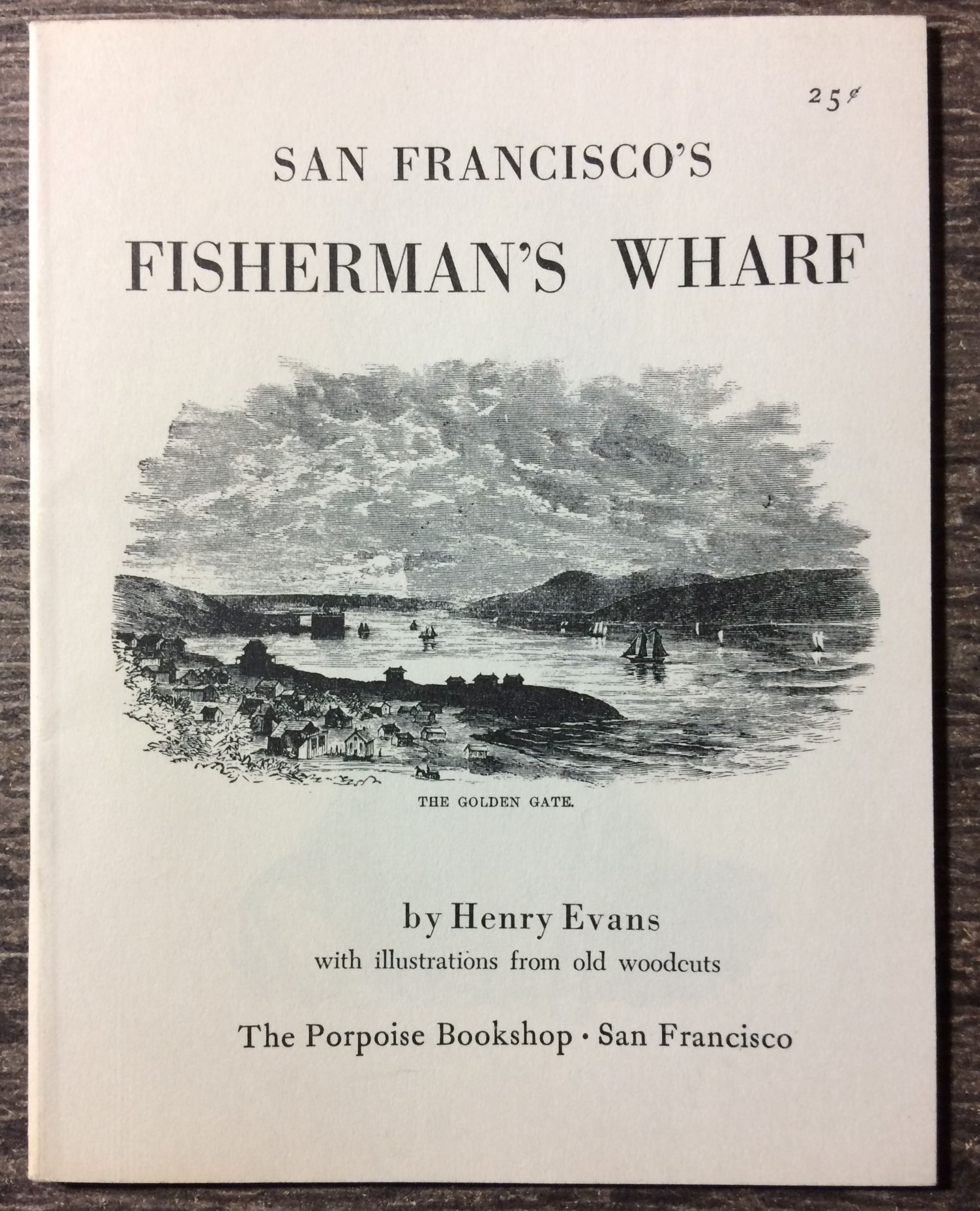 Image for San Francisco's Fisherman's Wharf, with illustrations from woodcuts.