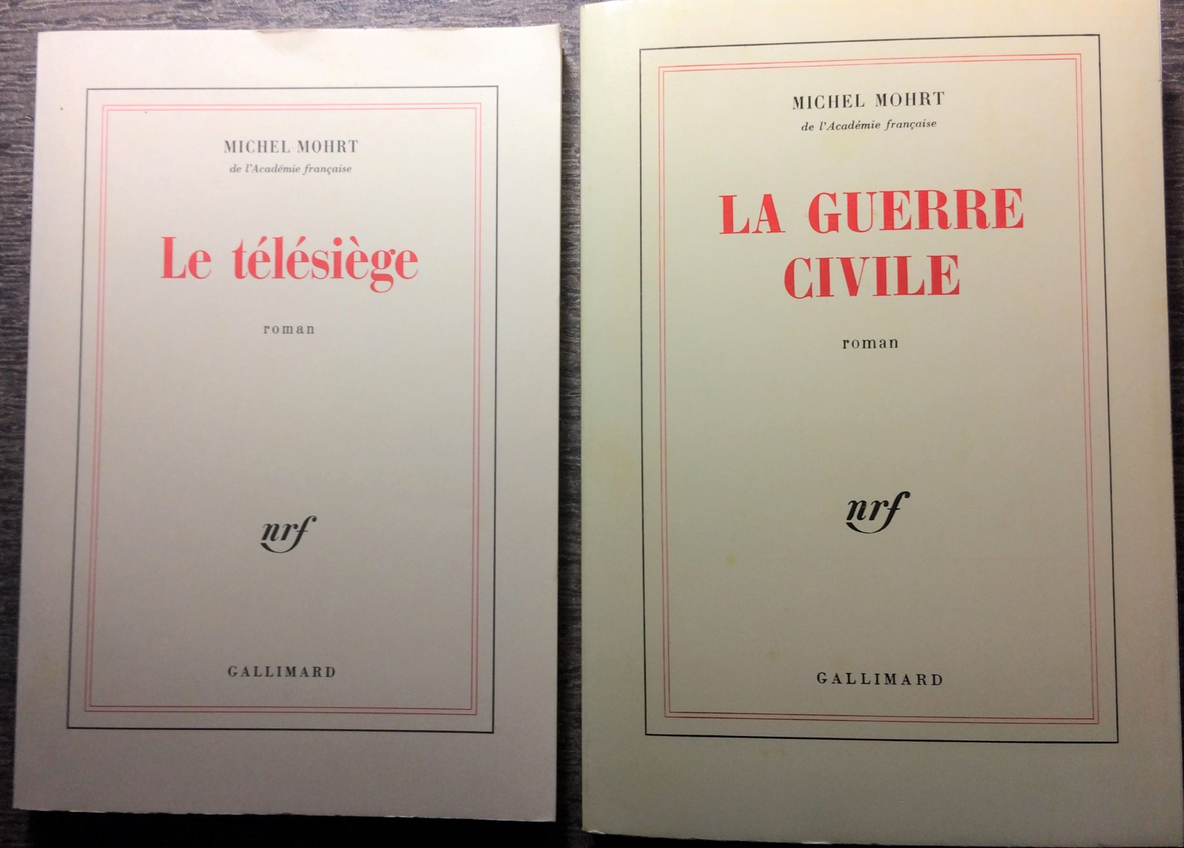 Image for [Two Titles] Le Telesiege; La Guerre Civile [Inscribed by the author].