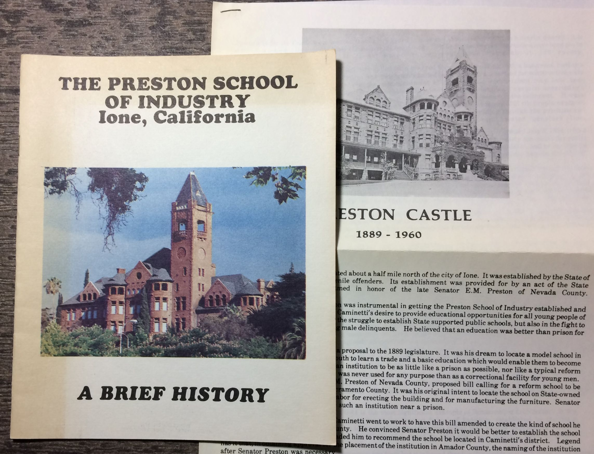 Image for The Preston School of Industry, A Brief History.