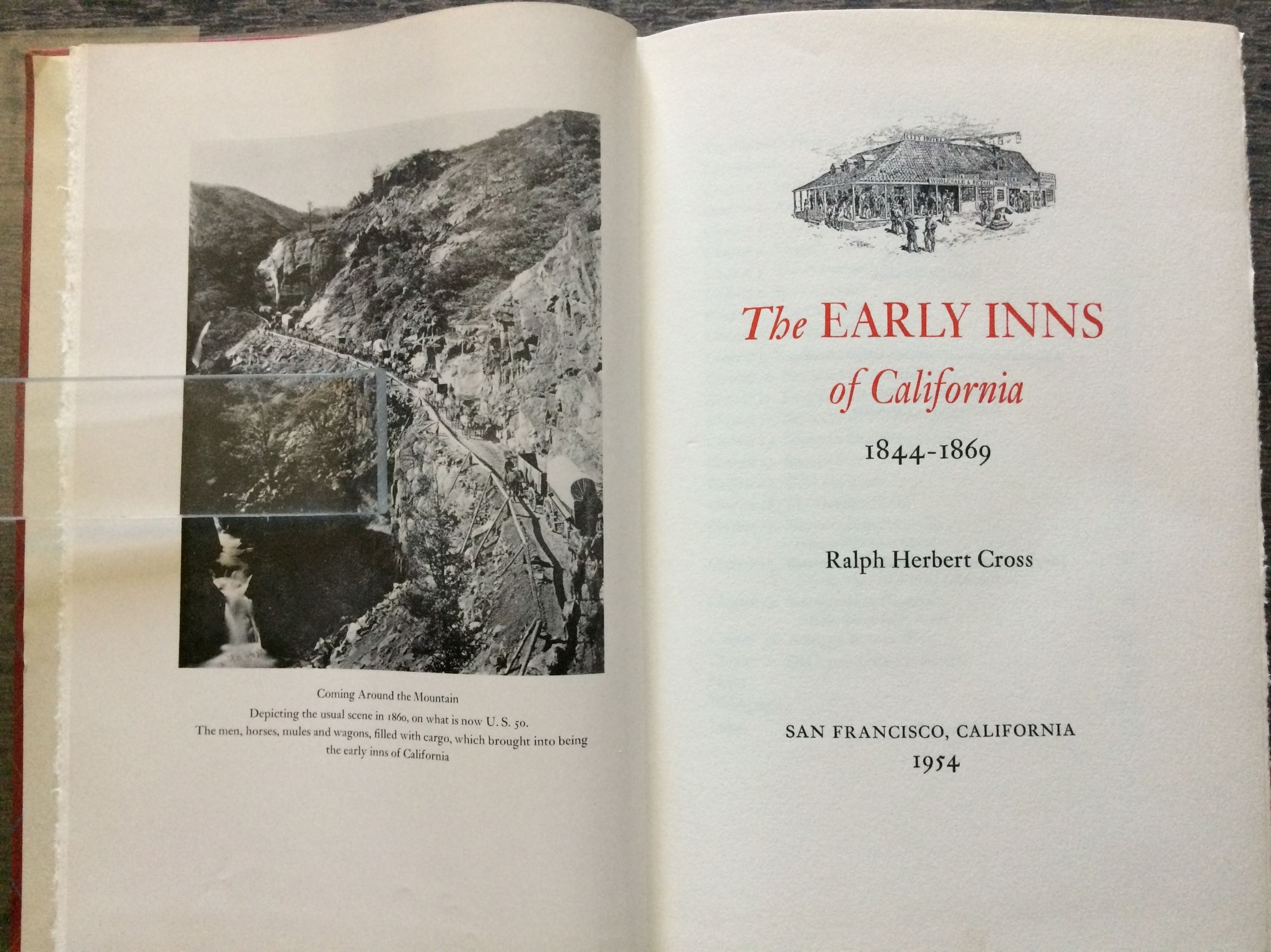 Image for The Early Inns of California, 1844-1869.