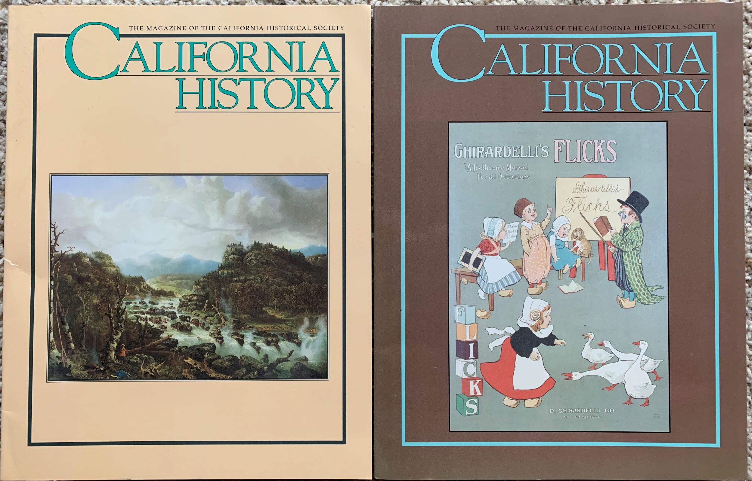 Image for (Two Issues) California History.  The Magazine of the California Historical Society. Volume 81, No's 1&2.